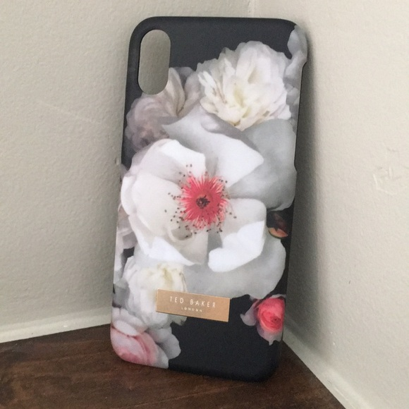sale retailer a9ef0 befed Ted Baker London floral phone case iPhone X NIB NWT